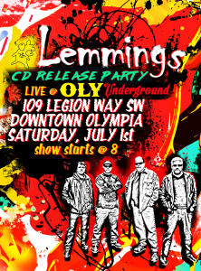 Lemmings OLY Underground Show Flyer (2)